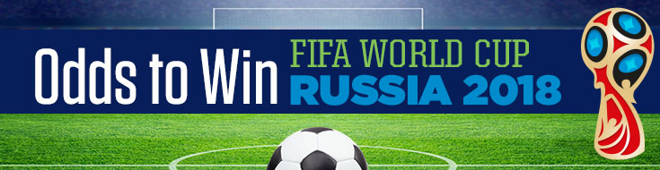 Odds to Win FIFA World Cup Russia 2018