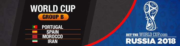 2018 FIFA World Cup Group B Future Betting Odds