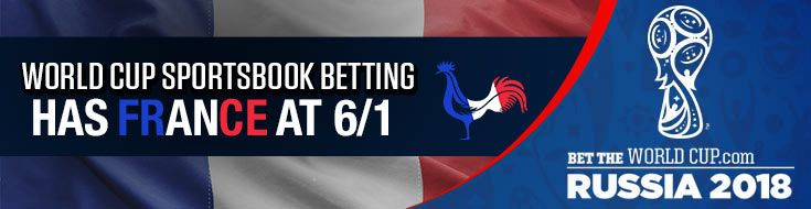 France World Cup betting odds, stats and predictions - Russia 2018