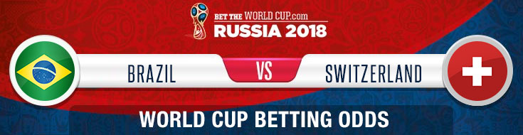 Brazil vs. Switzerland World Cup updated odds, tips and betting picks
