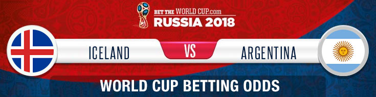 Iceland vs. Argentina Latest Odds for the 2018 World Cup in Russia