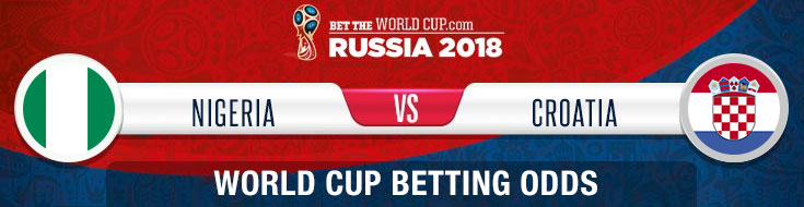 Nigeria vs. Croatia Latest World Cup betting odds