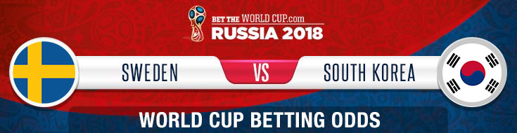 Sweden vs. South Korea Odds, and Picks - 2018 World Cup
