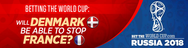 Denmark betting favorite World Cup Group C